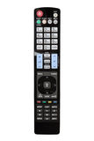 Modern LCD TV remote control Royalty Free Stock Image
