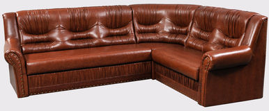 Modern leader furniture isolated Royalty Free Stock Photos