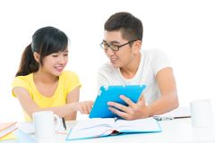 Modern learners Stock Photo