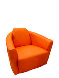 Modern leather armchair Royalty Free Stock Photo