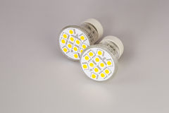 Modern LED bulbs Stock Photography