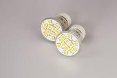 Modern LED bulbs Stock Photography