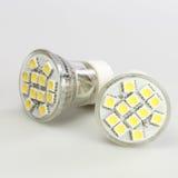 Modern LED bulbs Stock Images