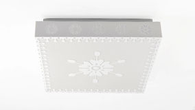 Modern led ceiling light Royalty Free Stock Image