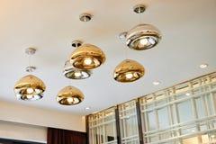 Modern led chandelier  lighting Stock Image