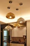 Modern led chandelier  lighting Stock Images