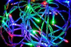 Modern LED Christmas lights. Royalty Free Stock Image
