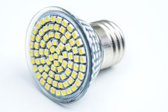 Modern LED light bulb Stock Photography