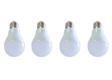 Modern LED light bulb (lamp) Isolated on white, ECO energy Royalty Free Stock Photography