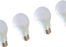 Modern LED light bulb (lamp) Isolated on white, ECO energy Royalty Free Stock Photos