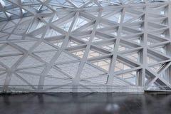 Modern leeg atrium of zaalbinnenland Royalty-vrije Stock Afbeeldingen