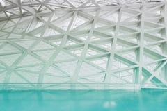 Modern leeg atriumbinnenland Stock Afbeelding