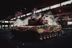 Modern Leopard tank Royalty Free Stock Image