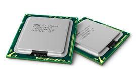Modern LGA processors Stock Photos
