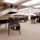 Modern Library Stock Images