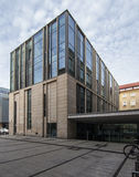 Modern library building. University of Adam Mickiewicz in Poznan Stock Photography