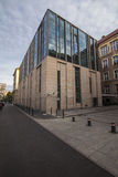 Modern library building. University of Adam Mickiewicz in Poznan Stock Photos