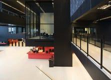 Modern library interior Stock Photos