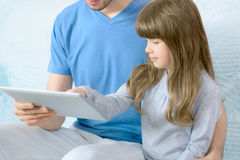 Modern life with Apple Ipad Stock Images