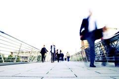 Modern Life Stress. Blur effect showing the stress of modern life Stock Photos