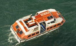 modern lifeboat Royaltyfri Fotografi