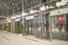 Modern Lift Lobby Royalty Free Stock Photography