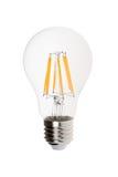 Modern light bulb isolated Stock Image