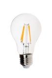 Modern light bulb isolated on white Stock Image