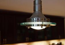 Modern Light Fixture Stock Photography