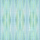 Modern light green and blue stripped background with light embossed rectangle and square shapes Stock Images