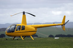 Modern light helicopter Royalty Free Stock Image