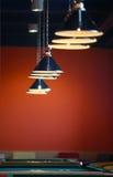 Modern light in night club Stock Image