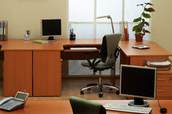 Modern and light office Stock Images