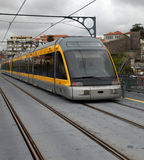 Modern light rail Stock Image