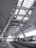 Modern Light Rail Station Royalty Free Stock Images