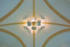 Modern light-sculpture Stock Photo