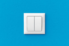 Modern light switch Stock Photo