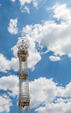 Modern Light Tower Under Nice Skies Royalty Free Stock Photography