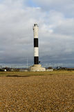 Modern lighthouse, Dungeness New Lighthouse Stock Photos