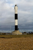 Modern lighthouse, Dungeness New Lighthouse Royalty Free Stock Photo