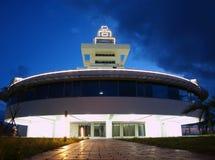 Modern Lighthouse at Evening Time Stock Photos