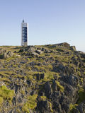 Modern lighthouse in Galicia Royalty Free Stock Photography