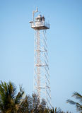 Modern lighthouse on Gili island, Indonesia Royalty Free Stock Images