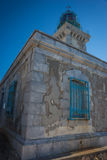 Modern lighthouse at the most southern point of greek mainland Royalty Free Stock Images