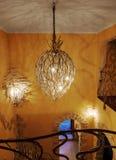 Modern lighting fixtures Stock Photo