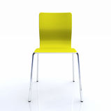 Modern lime green chair Royalty Free Stock Photos