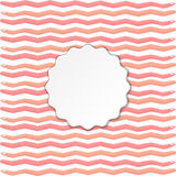 Modern lineal pattern with a frame. Vector modern lineal pattern with a frame Stock Photo