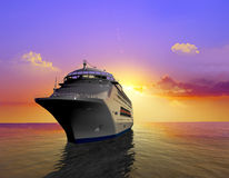 A modern liner Royalty Free Stock Photos