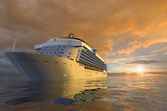 A modern liner Stock Photography