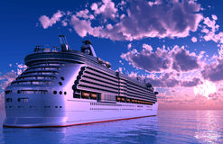 A modern liner Royalty Free Stock Photography